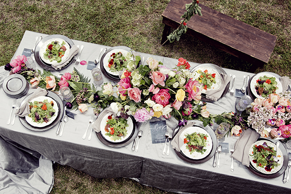 lunch ideas, lunch parties, Libbie Summers,