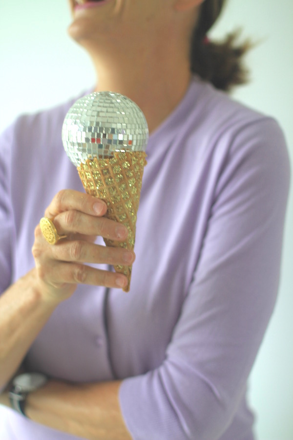 Disco Cone from Libbie Summers (photo by teresa earnest)