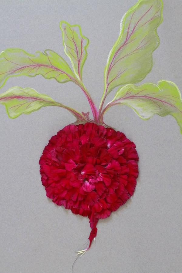 Libbie Summers, flowers, beets, DIY, A food-inspired life, Libbie Summers