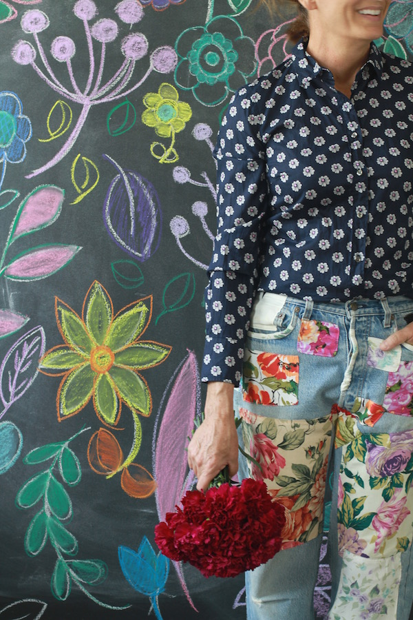 DIY, Patchwork, Jeans, Libbie Summers, A food-inspired life, Fashion, Jeans