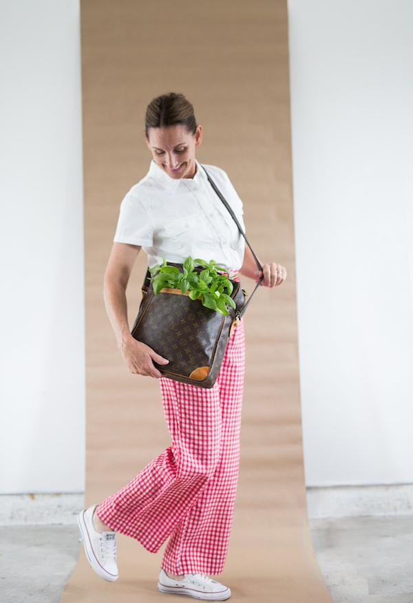 Caprese Salad inspired fashion, Libbie Summers, Vintage Clothing, Vintage Fashion