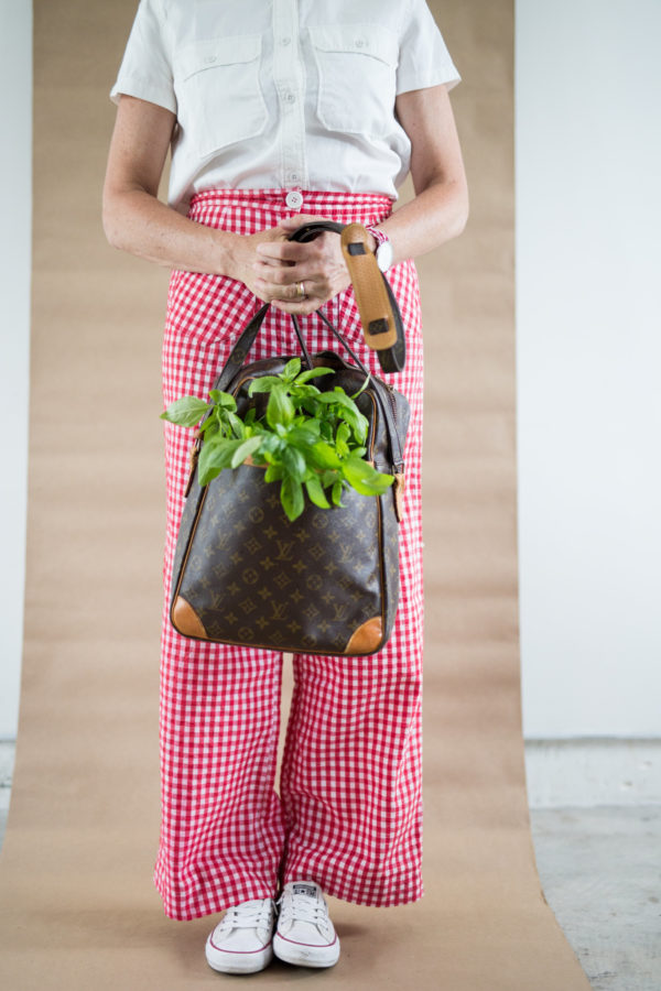 Food-inspired fashion, Caprese Salad Fashion, Libbie Summers, A food-inspired life, teresa earnest, gingham
