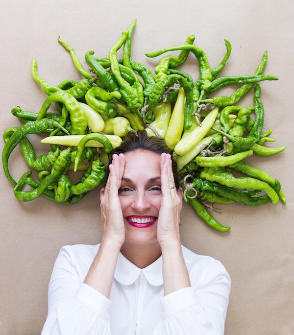 Playing with food, Hot Peppers, Food Hair, Hairstyles, Libbie Summers, A Food-inspired life