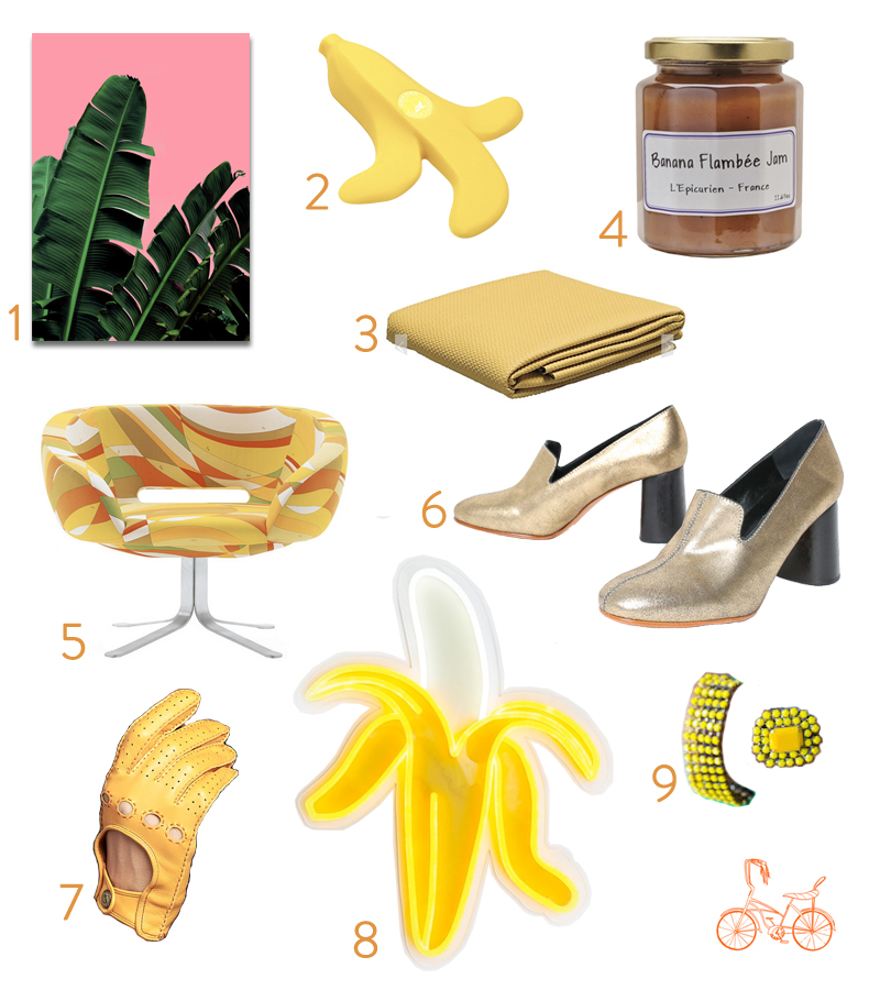 Banana Inspirations, Libbie Summers favorite things, Banana Crushes