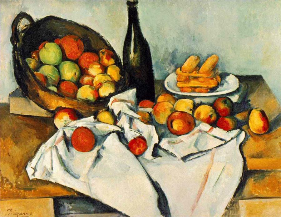 Basket of Apples by Cezanne