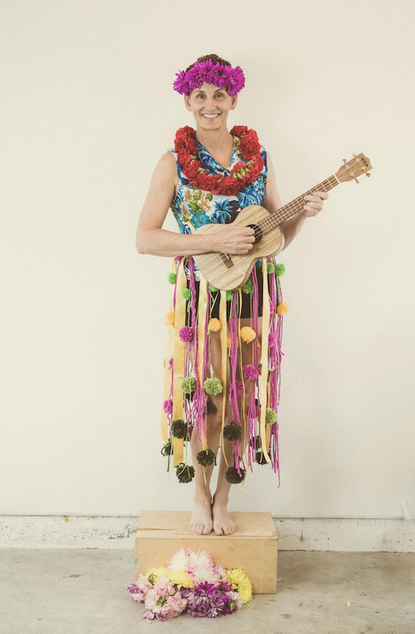 Halloween Costumes, Easy Costumes, Hula Dancer, Libbie Summers, A food-inspired life