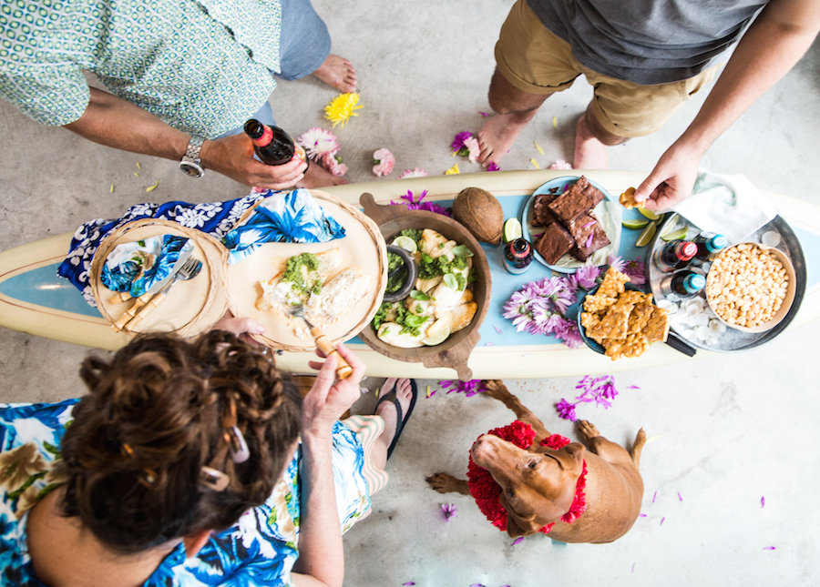 Party Ideas, Surf party, Hawaiian party, Libbie Summers, A food-inspired life