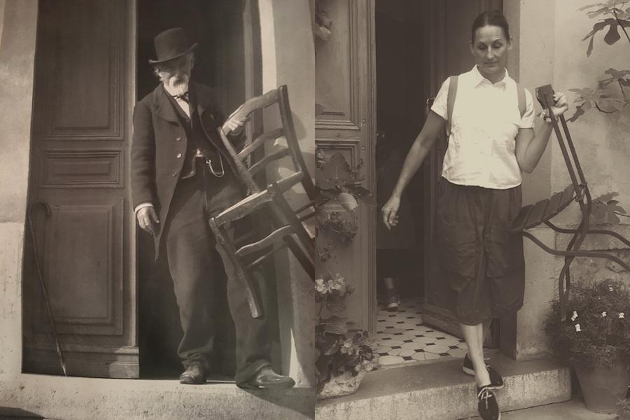 Fun with artists, Libbie Summers, Cezanne, Aix en Provence, France, Atelier