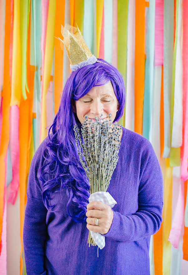 Photo booth fun, Party fun, lavender, A food-inspired life