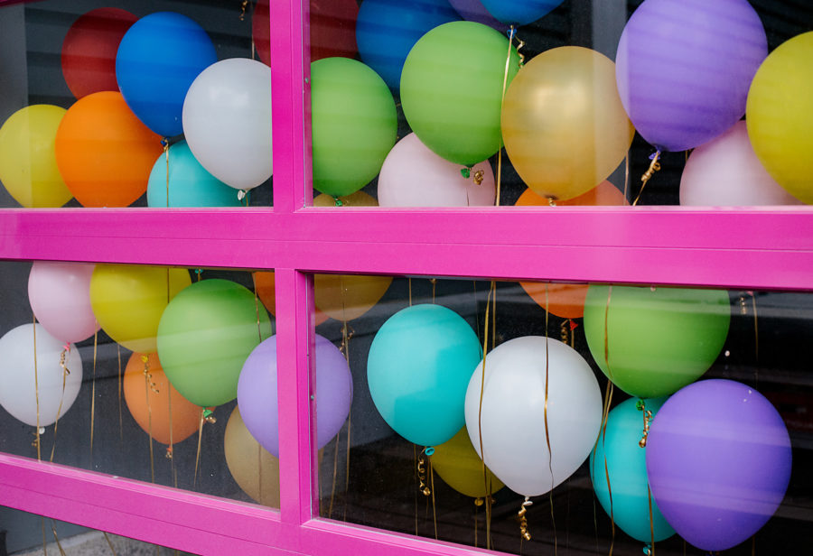 Colorful party decorations libbie summers