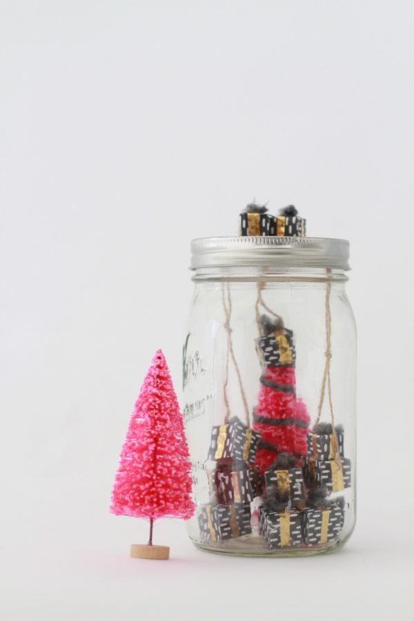 Libbie Summers, A Food-Inspired Life, Holiday 2016, Sweets, Candy, Holiday, Ski, Mason Jar, Small Art,