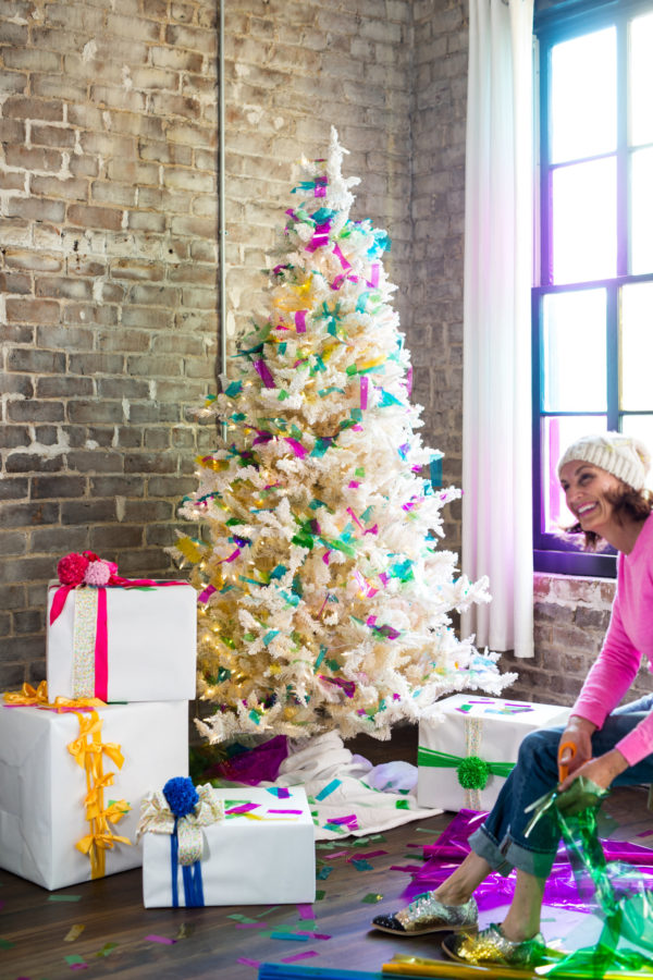 Christmas Tree Decorating, Holiday Decorating, Libbie Summers, Food-Inspired, Decorating Ideas, Holiday Ideas, Christmas Tree, Sprinkles, Homemade Sprinkles, Sprinkles, homemade gifts, edible gifts,