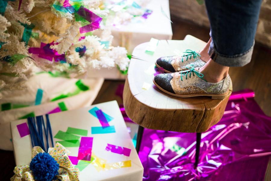 Libbie Summers, Food-Inspired, Decorating Ideas, Holiday Ideas, Christmas Tree, Sprinkles, Homemade Sprinkles, Sprinkles, homemade gifts, edible gifts,