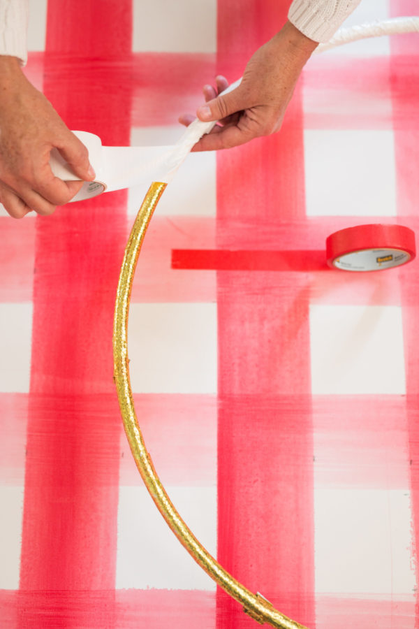 Libbie Summers, A Food-Inspired Life, Hula Hoop, Christmas Tree, Holiday Ideas, Tree Ideas, Holiday Decorating, Red and White, Candy Cane Tree,