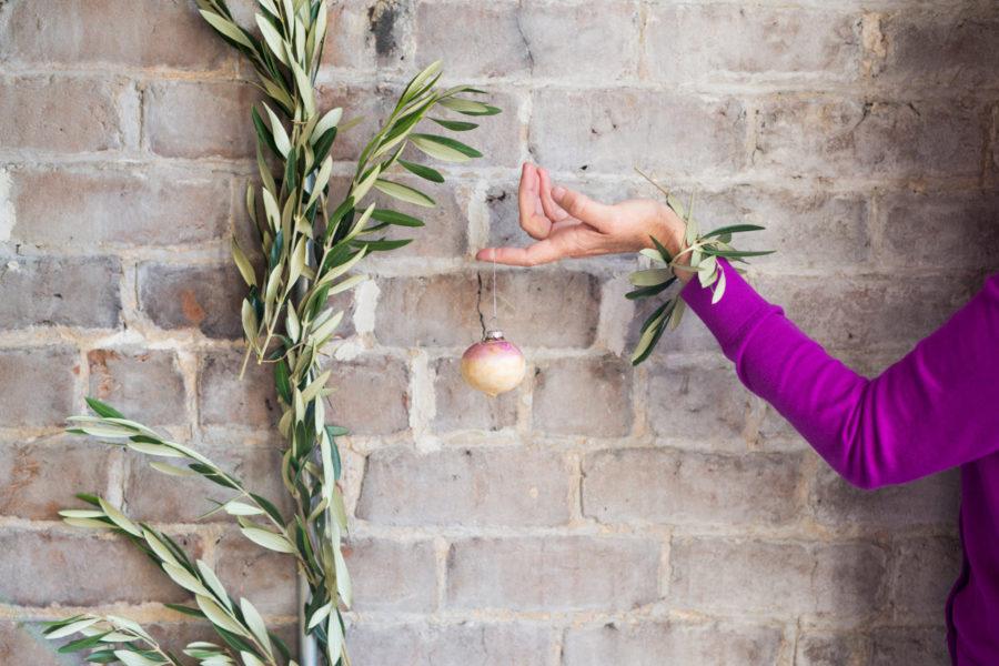 Libbie Summers, Turnip, A Food-Inspired Life, Food-Inspired Decorating, Holiday Decorating, Decorating Ideas, Turnip Ornament,