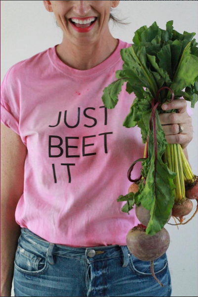 Libbie Summers, How to, How to video, just beet it, beets, beats, a food-inspired life