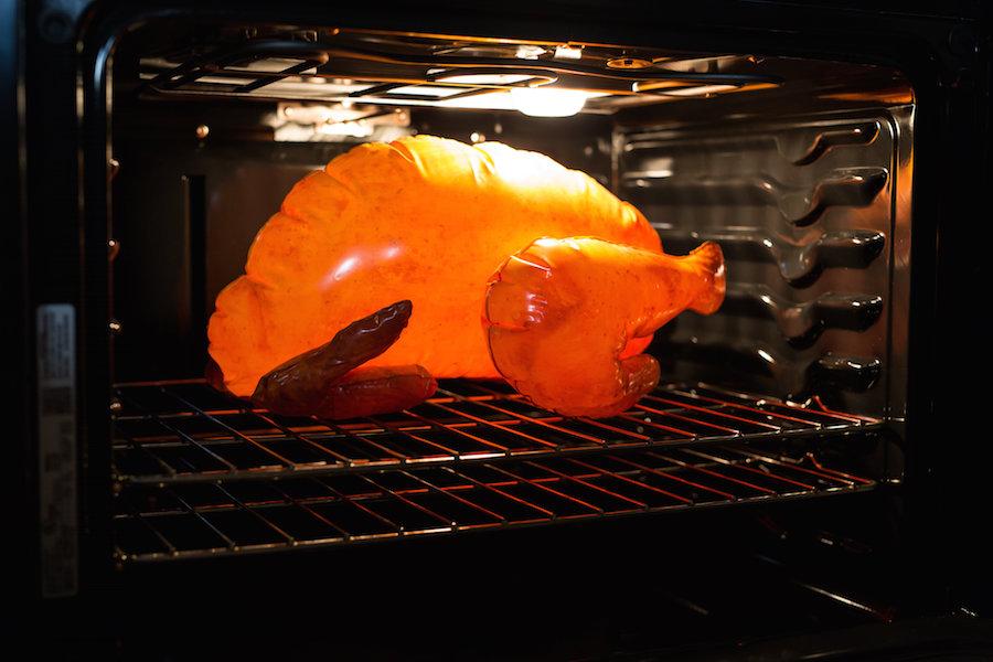 Turkey Roasting, Thanksgiving, Libbie Summers, Cooking a Turkey,