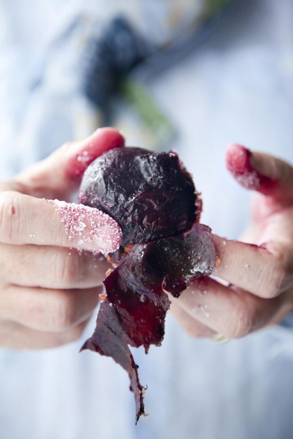 Salt Roasting, Vegetable Roasting, Salt Crusted Vegetables, Cooking Beets, Beets, Libbie Summers, A food-inspired life
