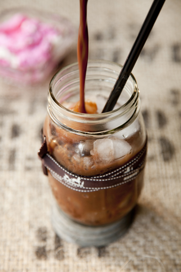 Libbie Summers, A Food-Inspired Life, Chia Chong, Iced Coffe, Desert Drink, Cherry Coffee