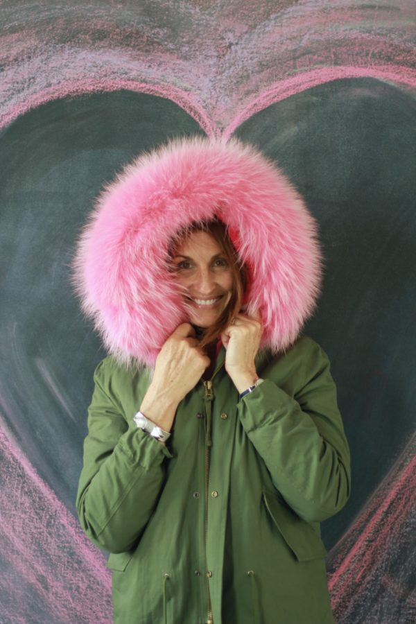 Winter Coat Fashion, Tomboy Coats, Libbie Summers Fashion, Pink Fur