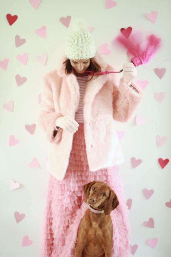 Pink Coats, Pink Skirts, Libbie Summers Fashion, Vizsla, Wearable Tassels