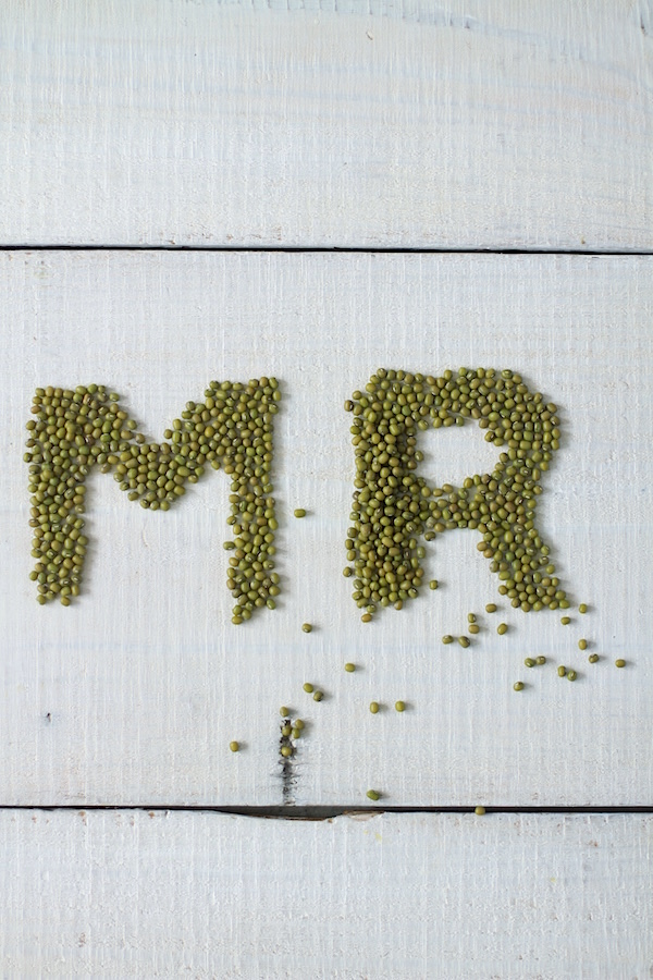Mung Beans, Playing with Food, Typography, Libbie Summers, A food-inspired life