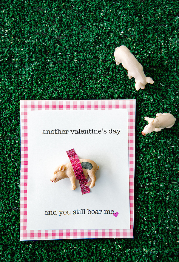 A Food-Inspired Life, Libbie Summers, Valentine's Day, Barnyard Valentines