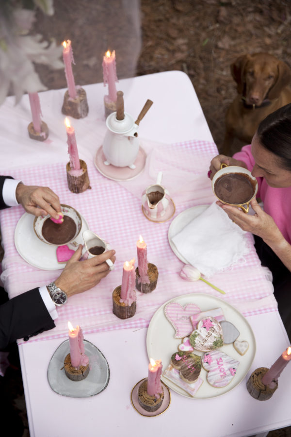 Hot Chocolate, Dessert Party, French Party, Libbie Summers Parties,