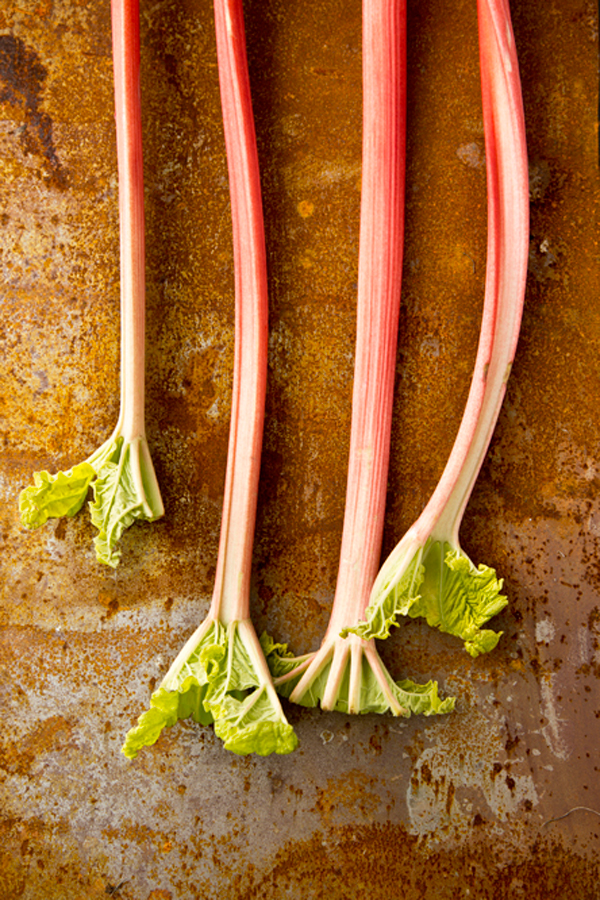 Libbie Summers, A Food-Inspired Life, Rhubarb