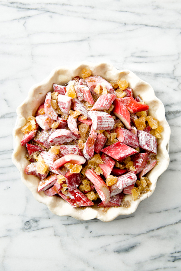 Libbie Summers, A Food-Inspired Life, Rhubarb, Pie, Recipe, Salted and Styled
