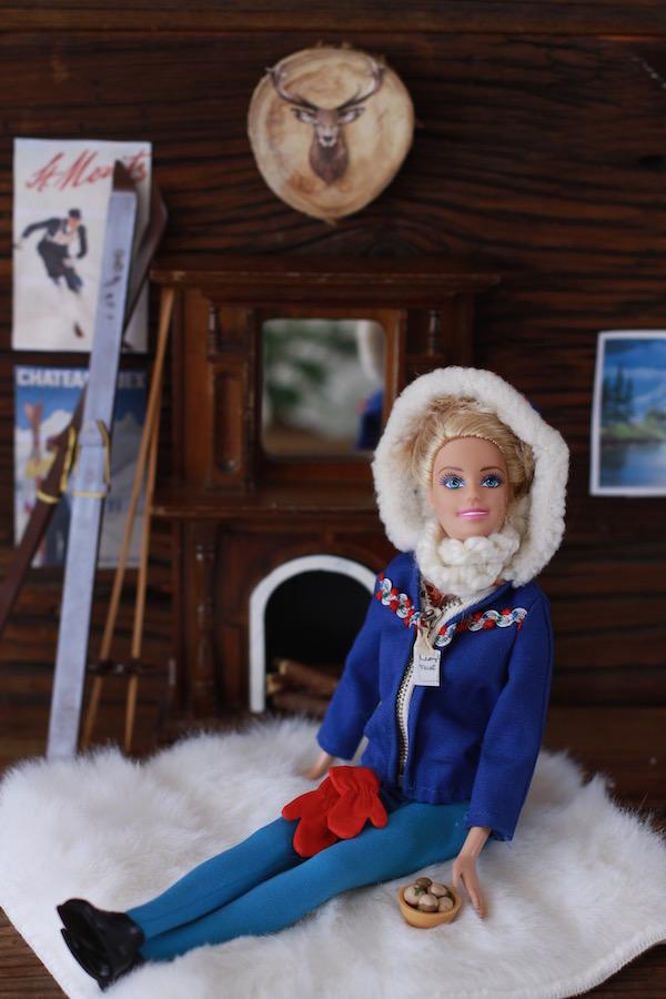 Barbie, Vintage Barbie, Skier Barbie, Bean Soup, Libbie Summers, A food-inspired life