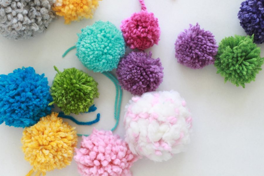 DIY, Libbie Summers, How To, Pom Pom, Craft