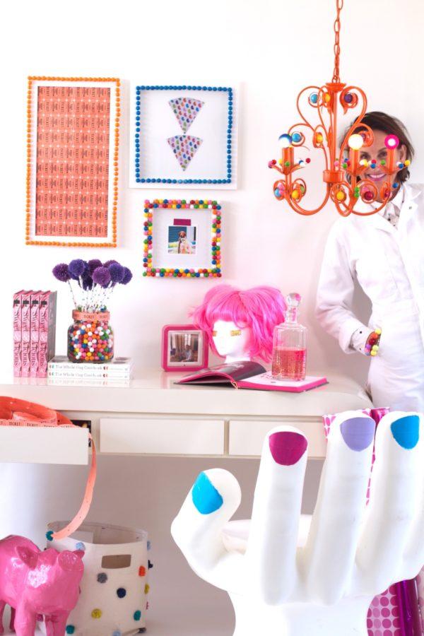 DIY, Interior Design, Libbie Summers, Gumballs, Gumball Chandelier