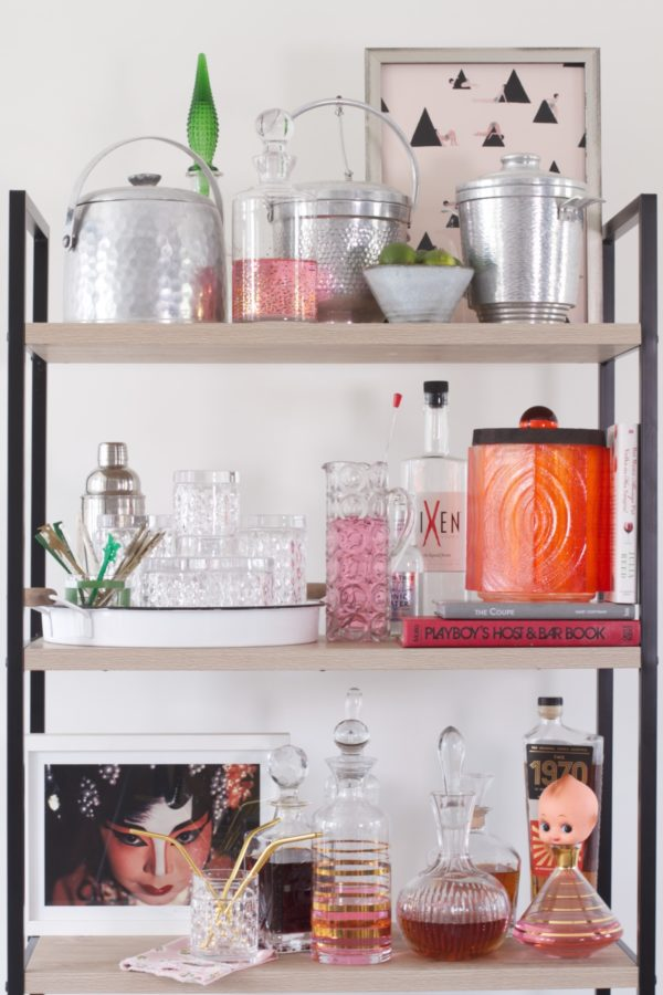 Shelfie, Bar, Interior Design, Libbie Summers, A food-inspired life, Terra's Kitchen, Polished in a Pinch