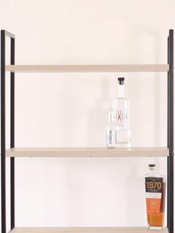 Bar Shelf Styling, A food-inspired life, Libbie Summers, Terra's Kitchen,