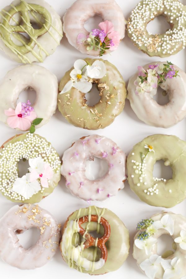 Donut Decorating, Libbie Summers, Terra's Kitchen, A food-inspired Life