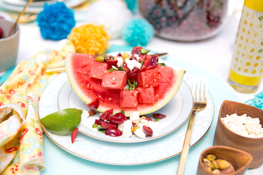 Summer Salads, Watermelon Salads, Cherry Salsa, Summer Entertaining