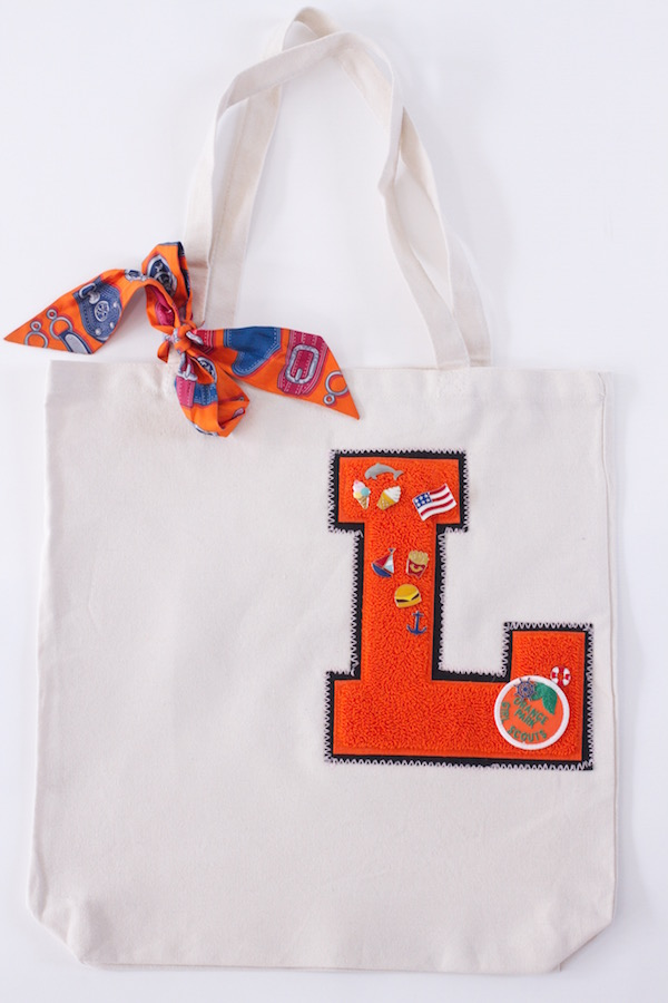 Back to School Crafts, Libbie Summers, A food-inspired life, Varsity Letters, Hermes Twilly
