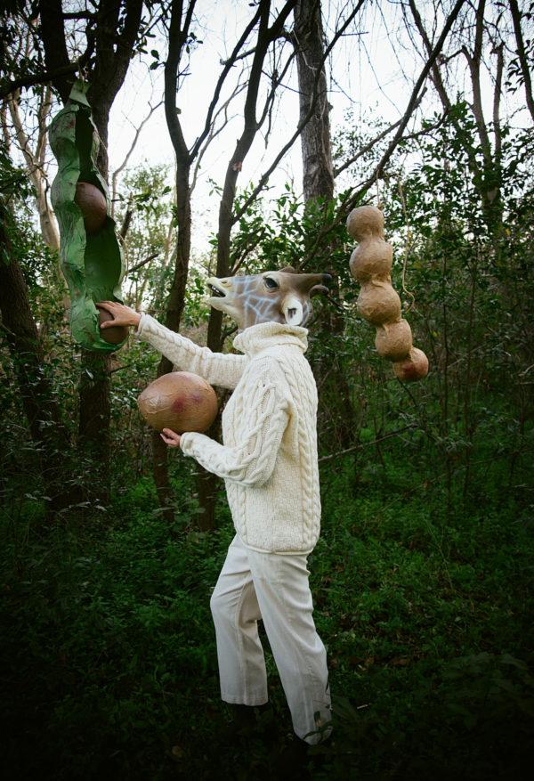 Papier Mache, Beans, Paper Mache, Giraffes, Giraffe mask, Libbie Summers, Party fun, A food-inspired life