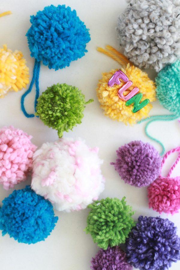 DIY, Libbie Summers, How To, Pom Pom, Craft