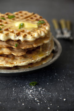 Breakfast recipes, Waffle Recipes, Savory Waffles, Libbie Summers, Chia Chong,