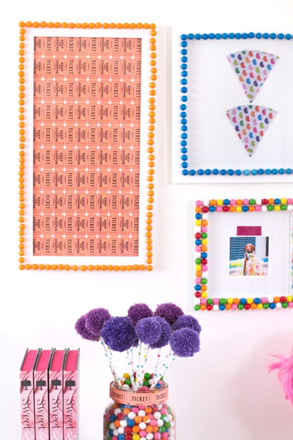 Gumballs, Crafts, Kid's Crafts, Chewing Gum, Libbie summers, A food-inspired life, decorating,