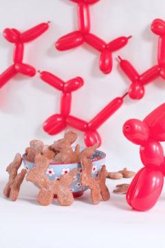 Healthy Dog Biscuits, Beet dog biscuits, Libbie Summers, A food-inspired life, Vizsla, Dog Treats