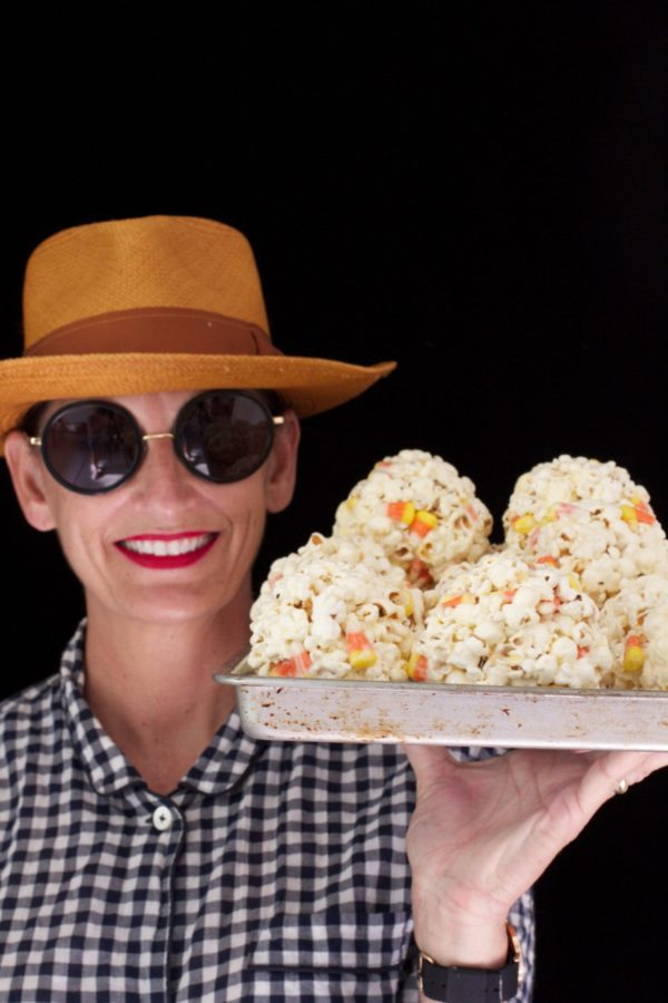 Libbie Summers, Halloween, Candy Corn, Popcorn, Recipe