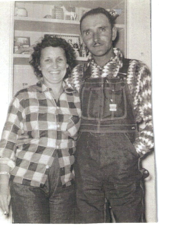Grandparents, Hog Farmers, Gingham, Missouri, Libbie Summers