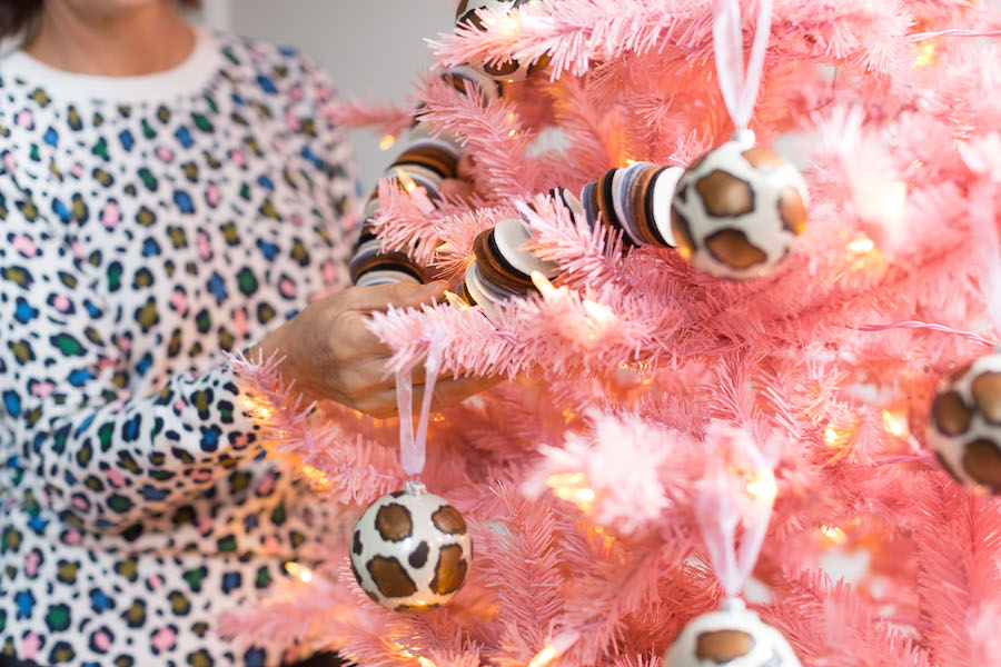 Christmas Tree, Holiday Decorating, Libbie Summers, A food-inspired life, Colorful Christmas