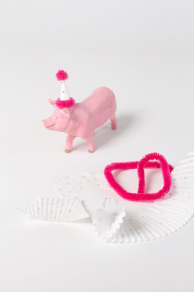 Crafts, ornament crafting, Pig Ornaments, Party Pigs, Libbie Summers, A food-inspired life