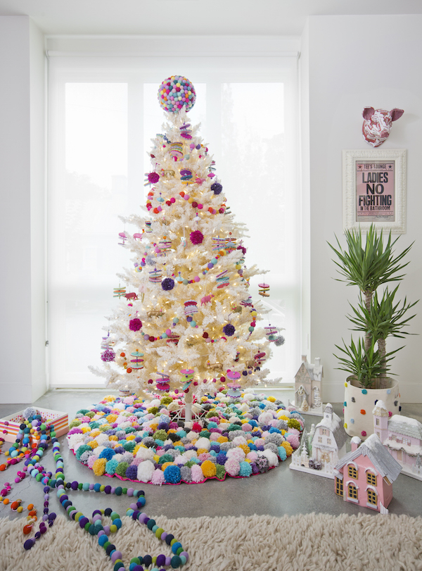 Christmas Trees, Holiday Decorating, Colorful Christmas, Libbie Summers, Candy Colored Christmas