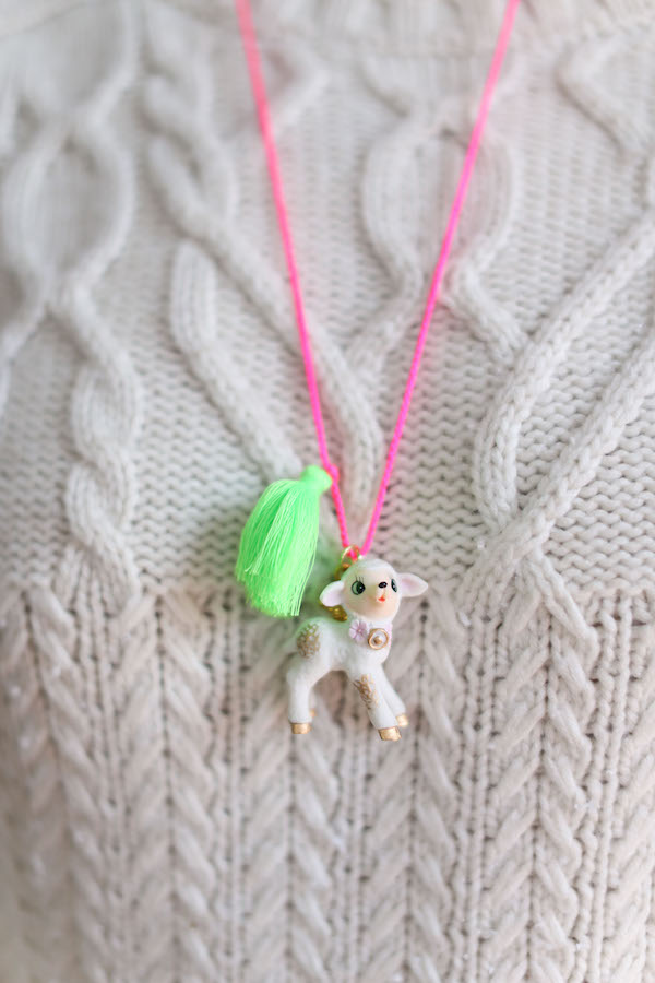Fun Necklaces, Happy Necklaces, Gunner and Lux, Libbie Summers, Holiday Style, Party Style