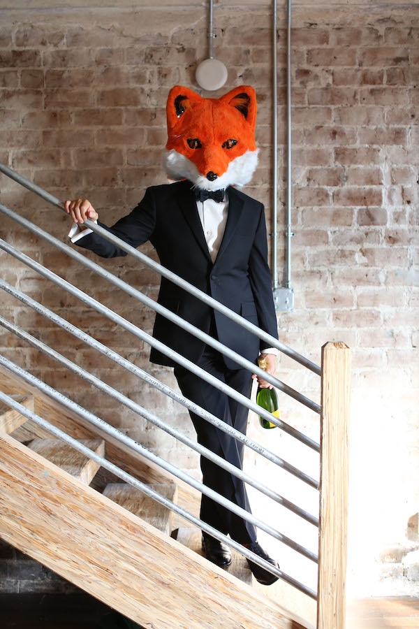 Fox Costume, Fox Head, New Years Eve, Libbie Summers, Joshua Summers